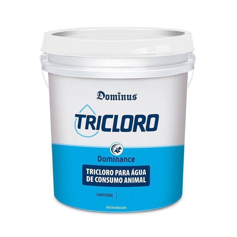 Tricloro Dominance 200 desinfetante - Balde de 3kg e 50kg