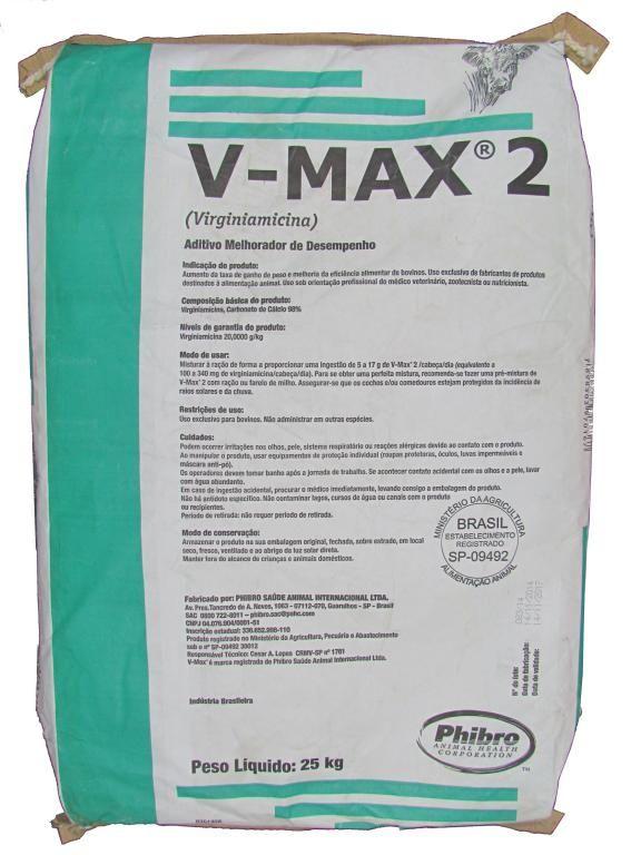 V-Max2 - Saco de 25kg