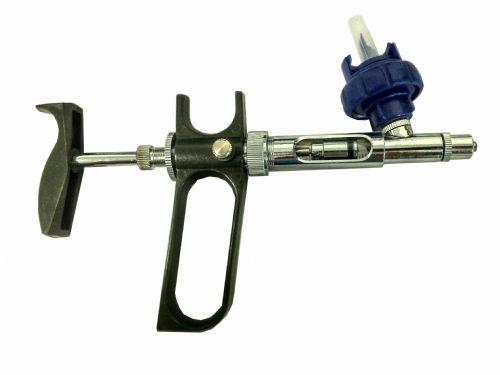 Vacinador Seringa Automática de Fluxo Contínuo com porta frasco - 2ml