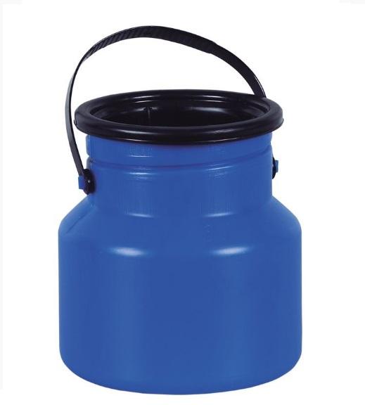 Vasilhame Latão para Leite Azul - 3L