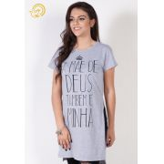 Camiseta A Mãe de Deus Também é Minha - Mescla