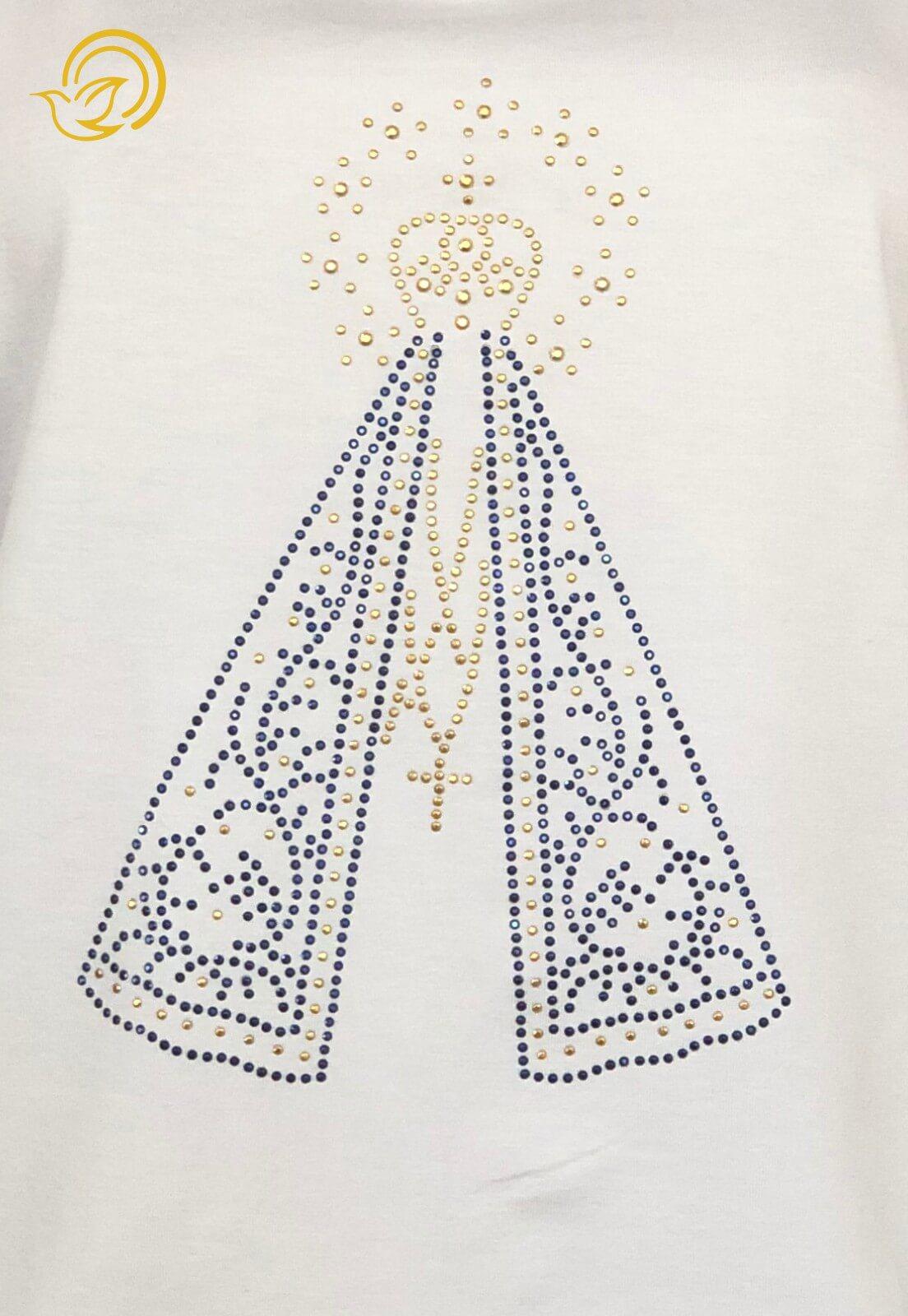 Babylook Nossa Senhora de Aparecida - Branca