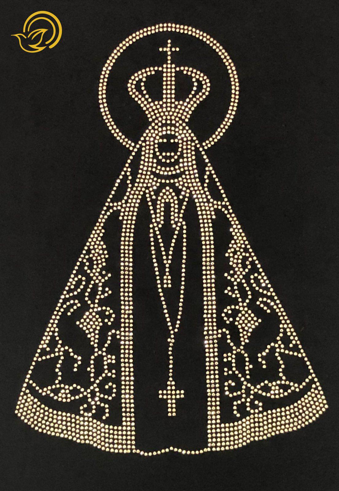 Bata Nossa Senhora de Aparecida Prata