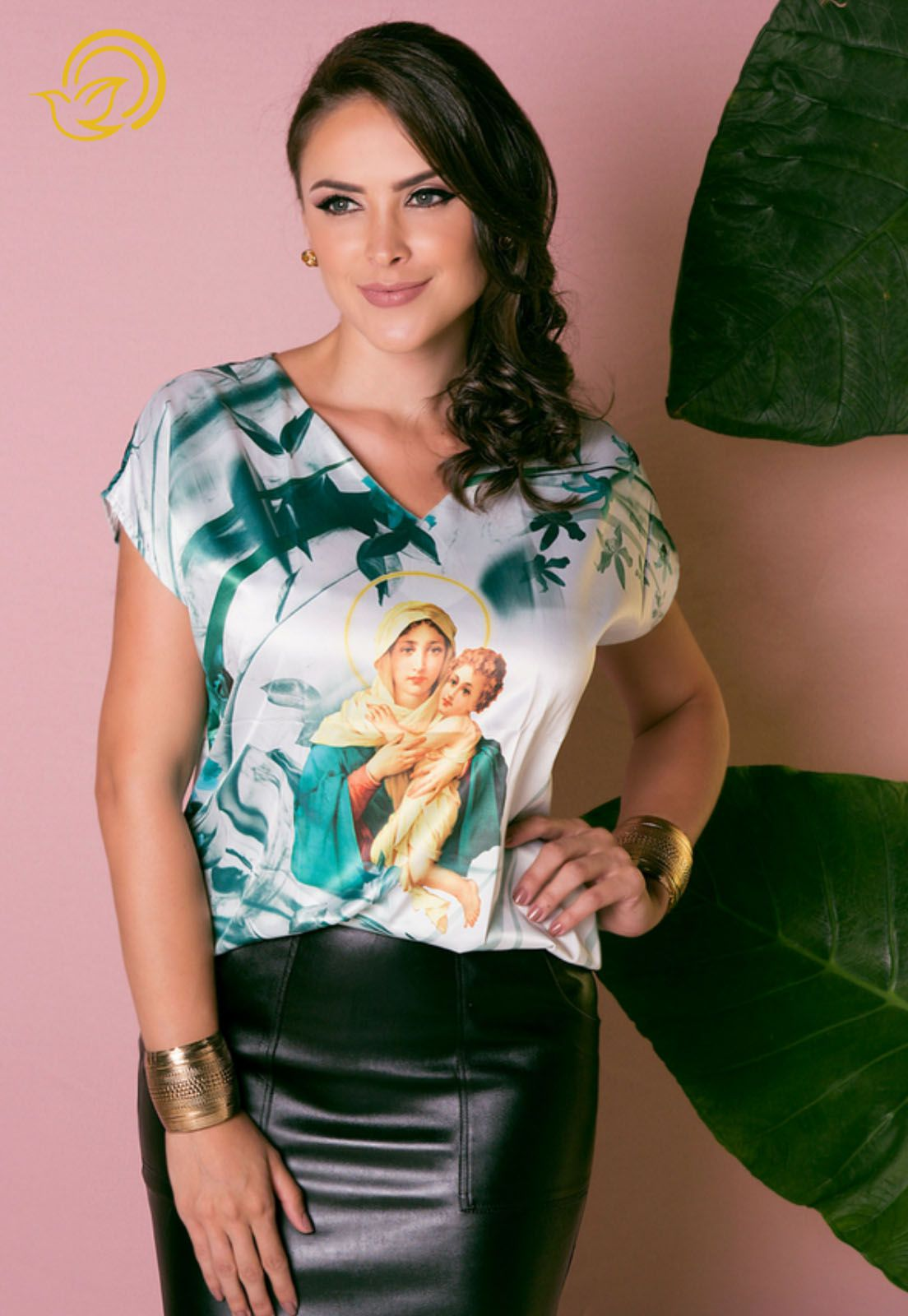 Blusa Mãe Rainha
