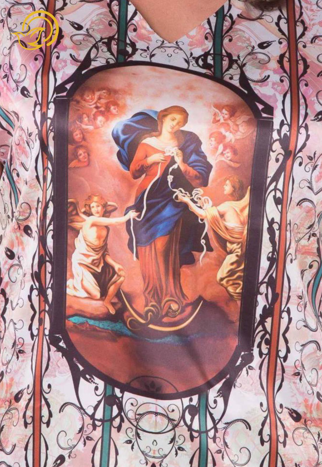 Blusa Nossa Senhora Desatadora de Nós