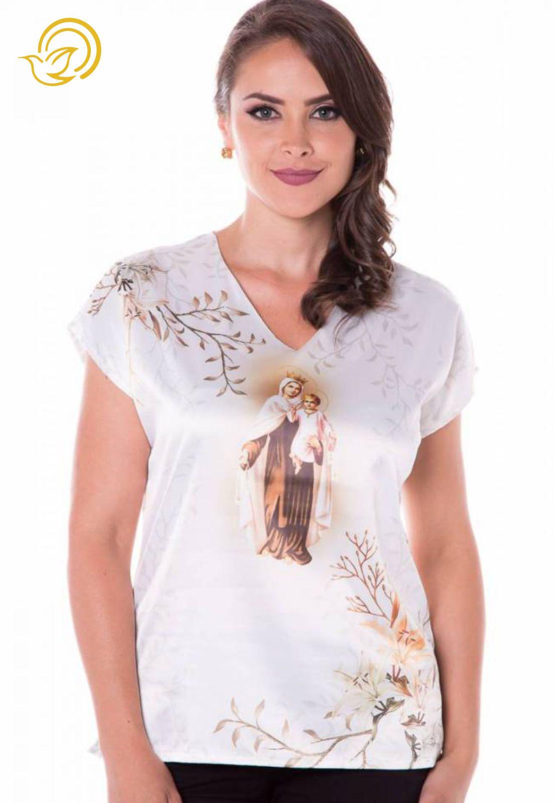 Blusa Nossa Senhora do Carmo