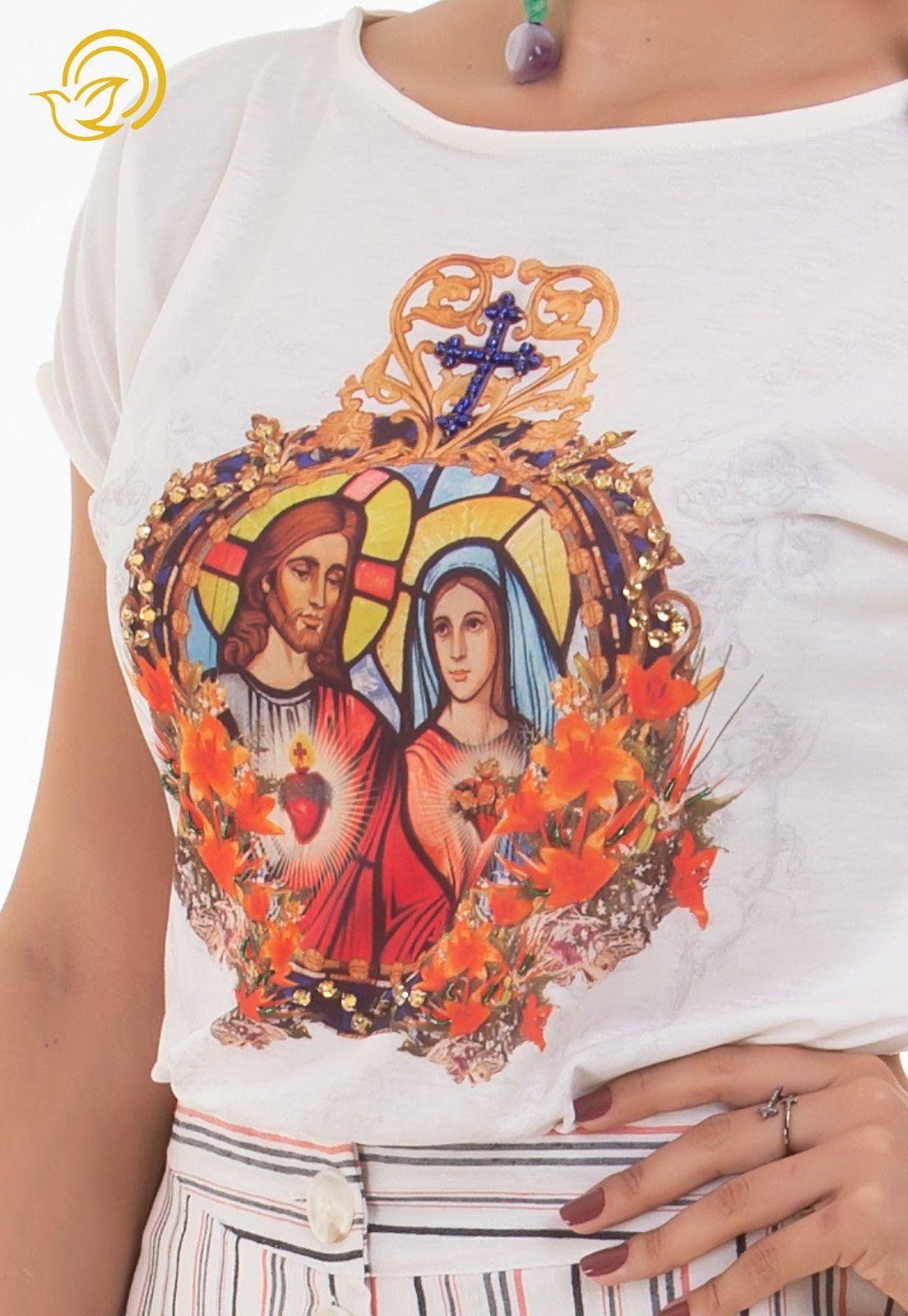 Blusa Sagrado Coração