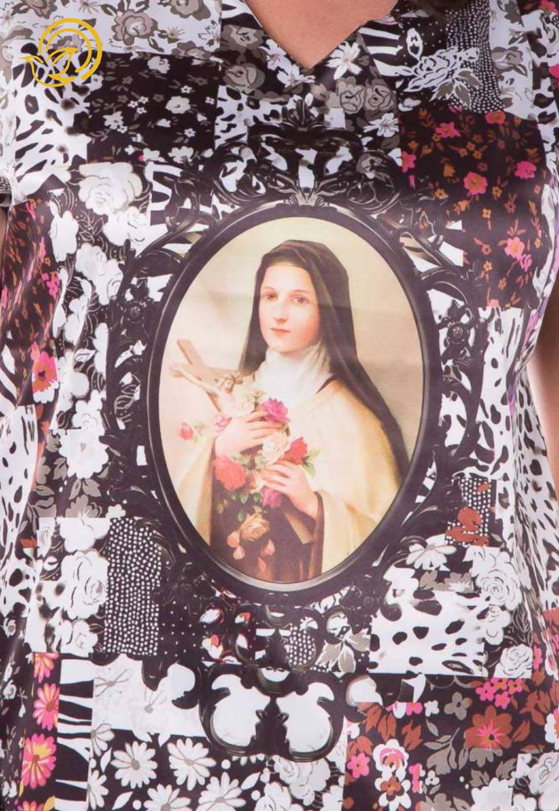 Blusa Santa Terezinha
