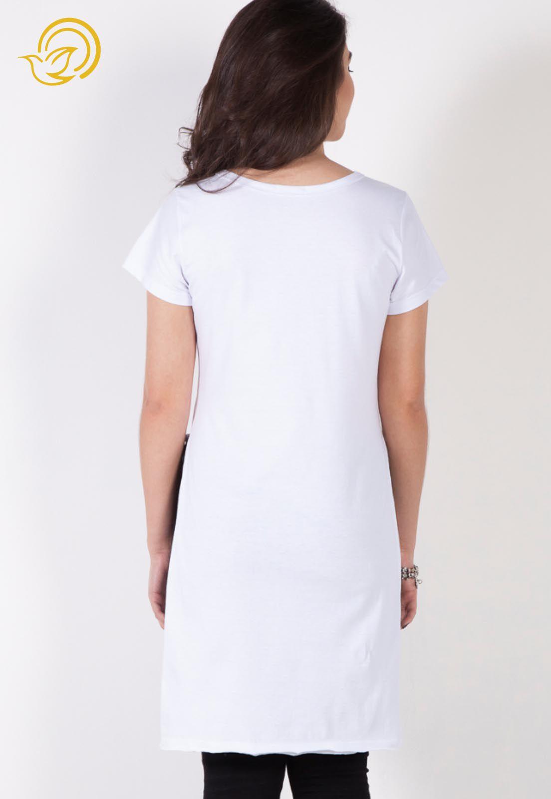 Camiseta A Mãe de Deus Também é Minha - Branca