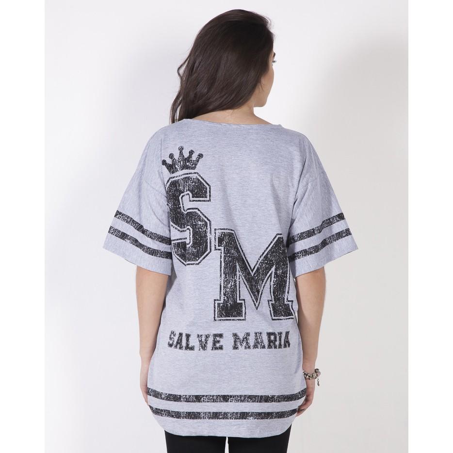 Camiseta Salve Maria - Mescla