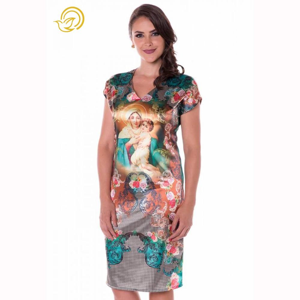 Vestido Mãe Rainha Arabesco