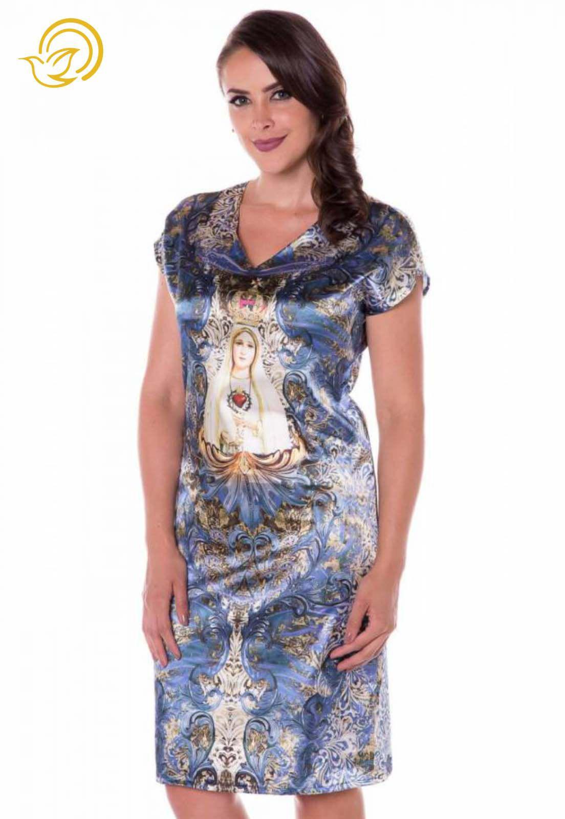 Vestido Nossa Senhora de Fátima