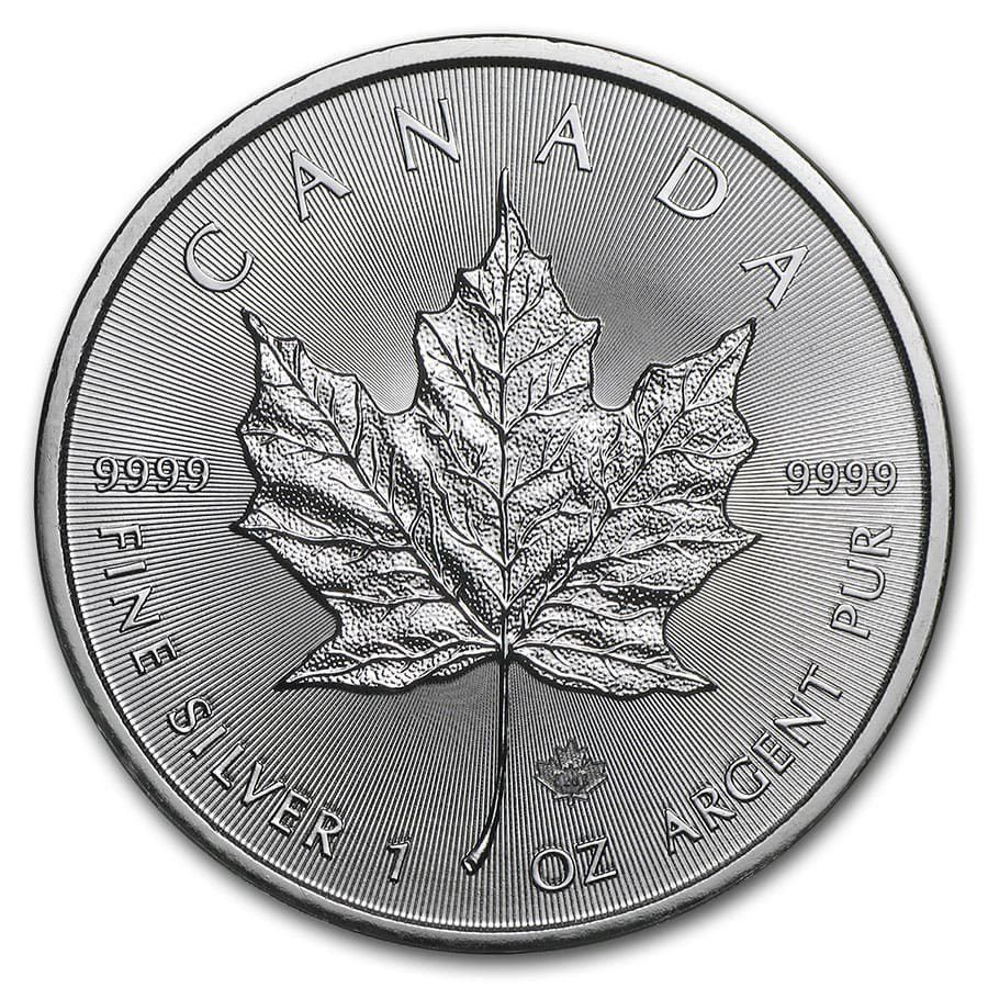1 oz 2020 Canadian Silver Maple Leaf