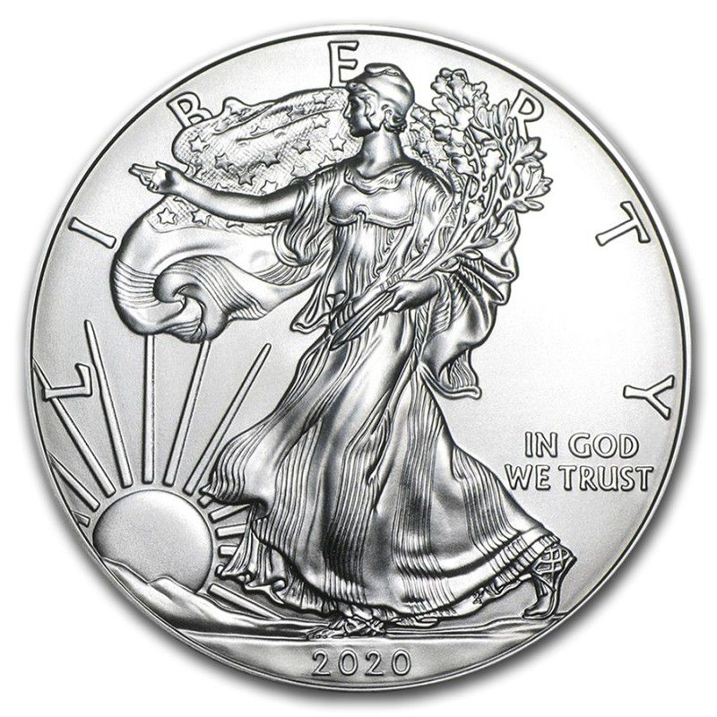 2020 American Eagle Silver Coin 1oz