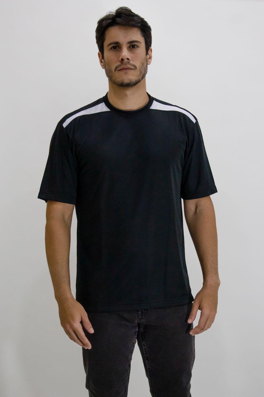 Camisa careca dry com recorte