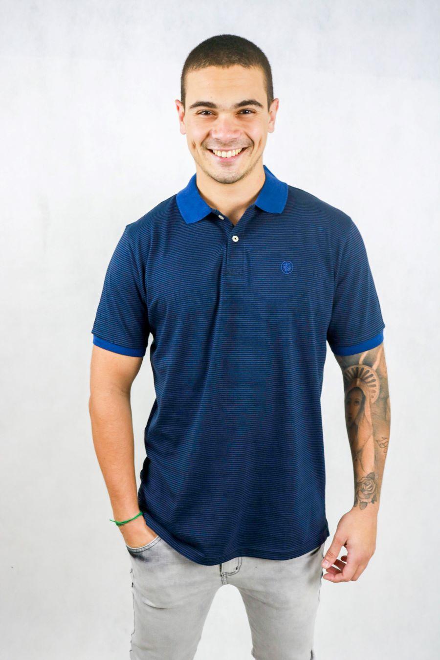 Camisa Obeland fio tinto listra coleção casual