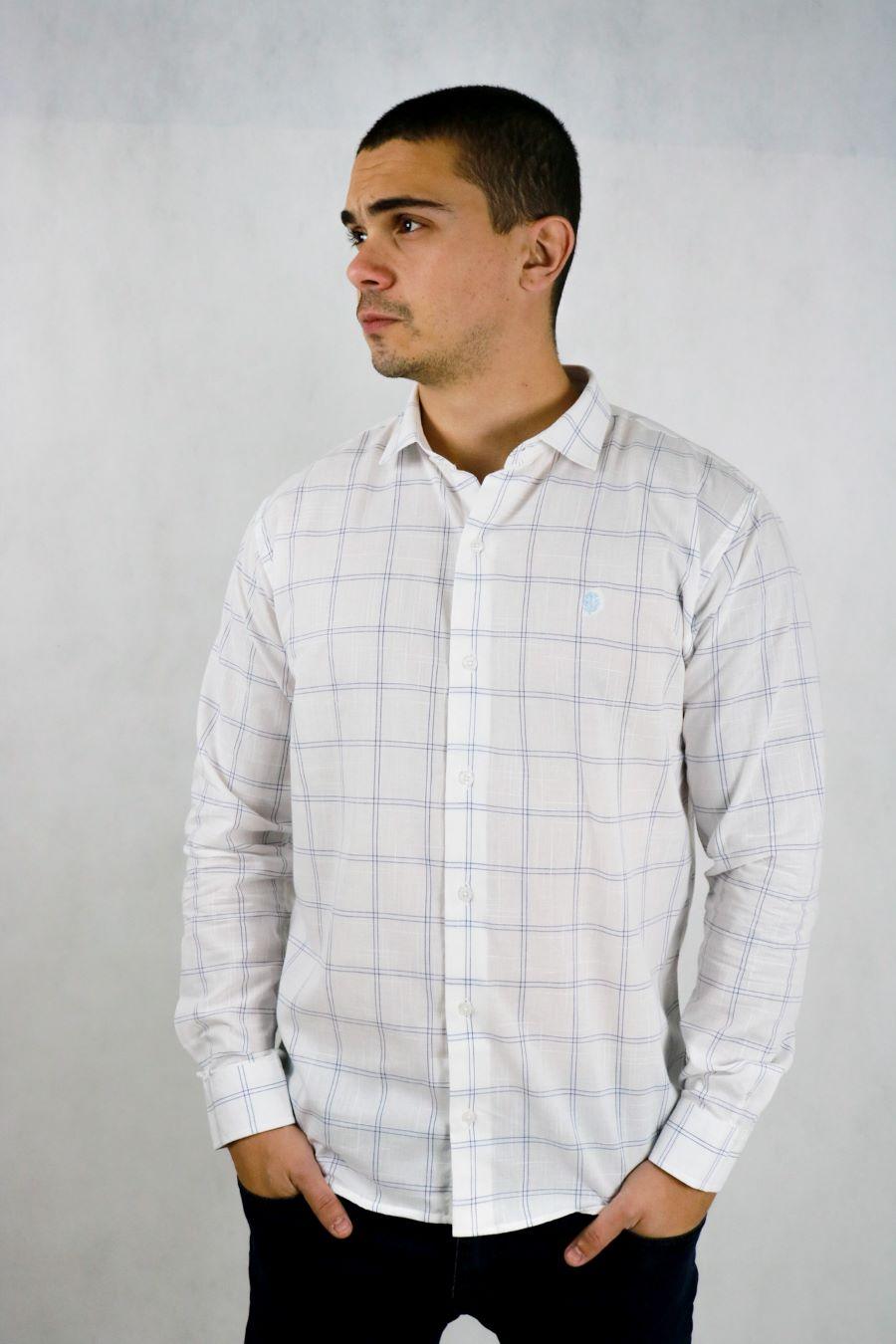 Camisa Obeland linhao xadrez coleção work