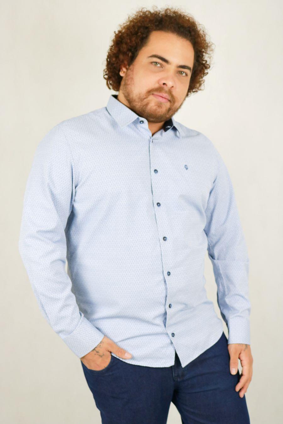 Camisa Obeland+ m/l diferenciada estilos LE