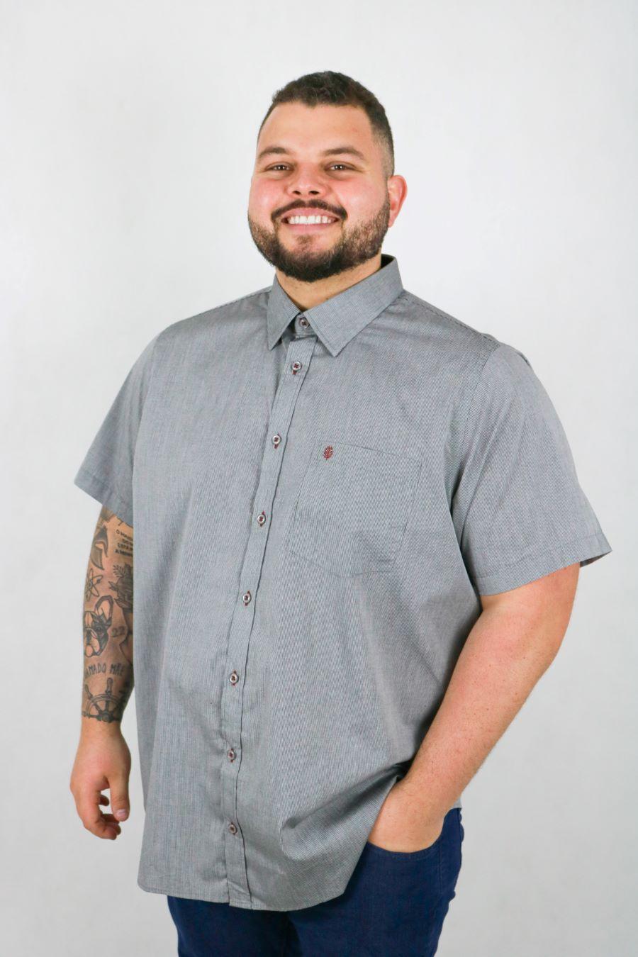 Camisa Obeland+ m/m diferenciada verao LE
