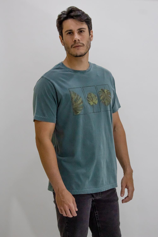 Camisa Obeland malha costela de Adao midas estonado