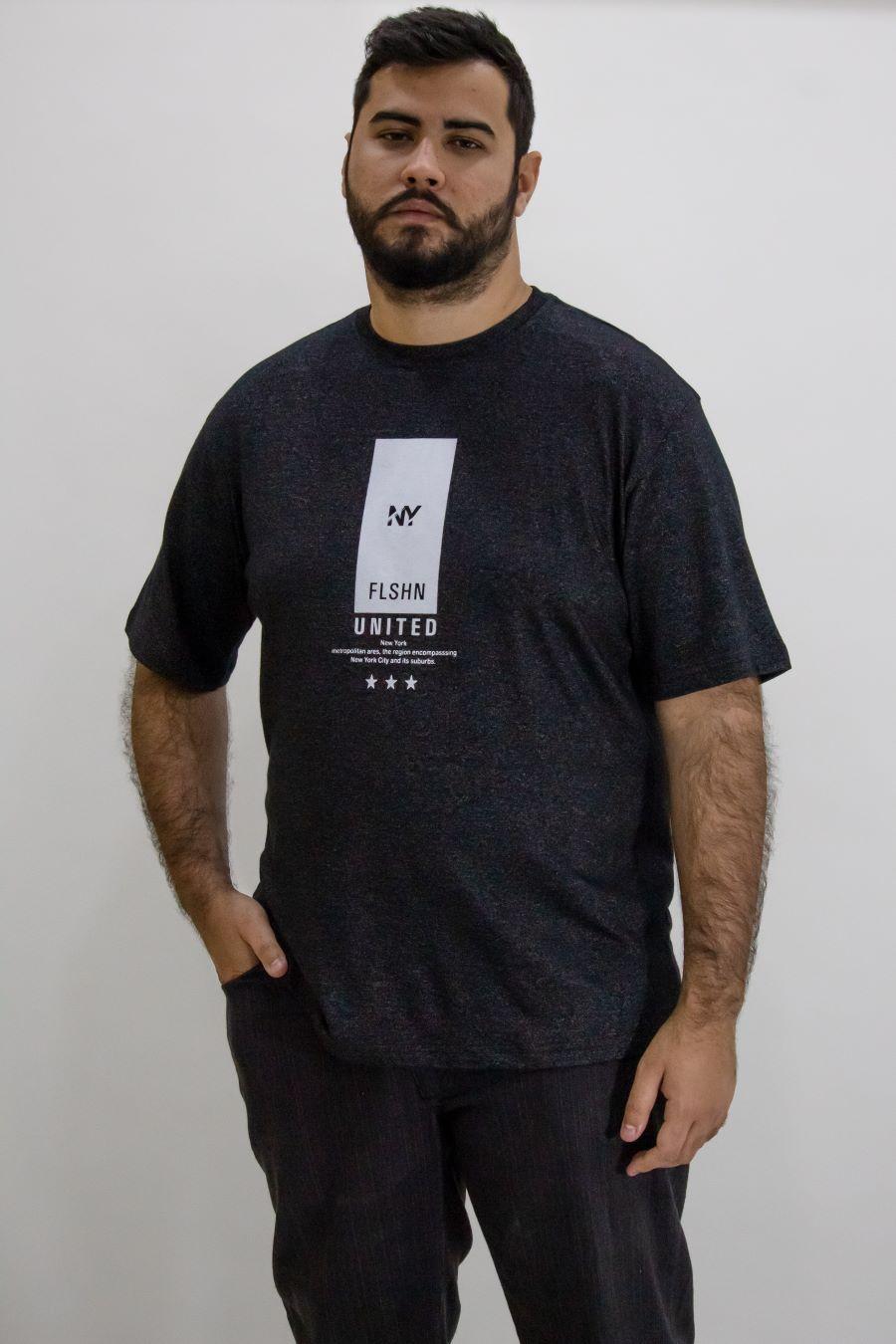 Camisa Obeland+ malha NY revolution sansation