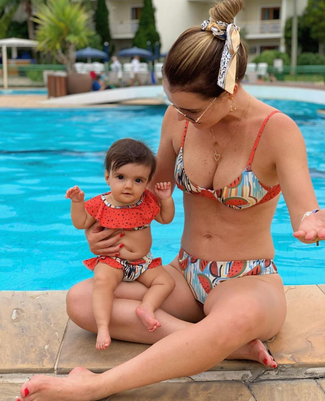 Combo Melancia Mãe e Filha
