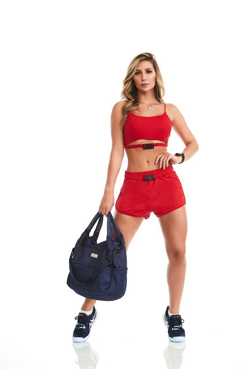 Conjunto Fitness Smart Vermelho