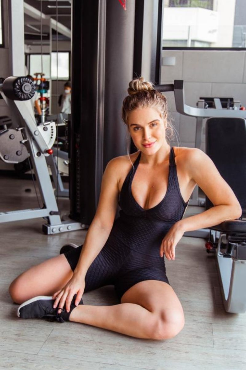 Macaquinho Fitness Preto
