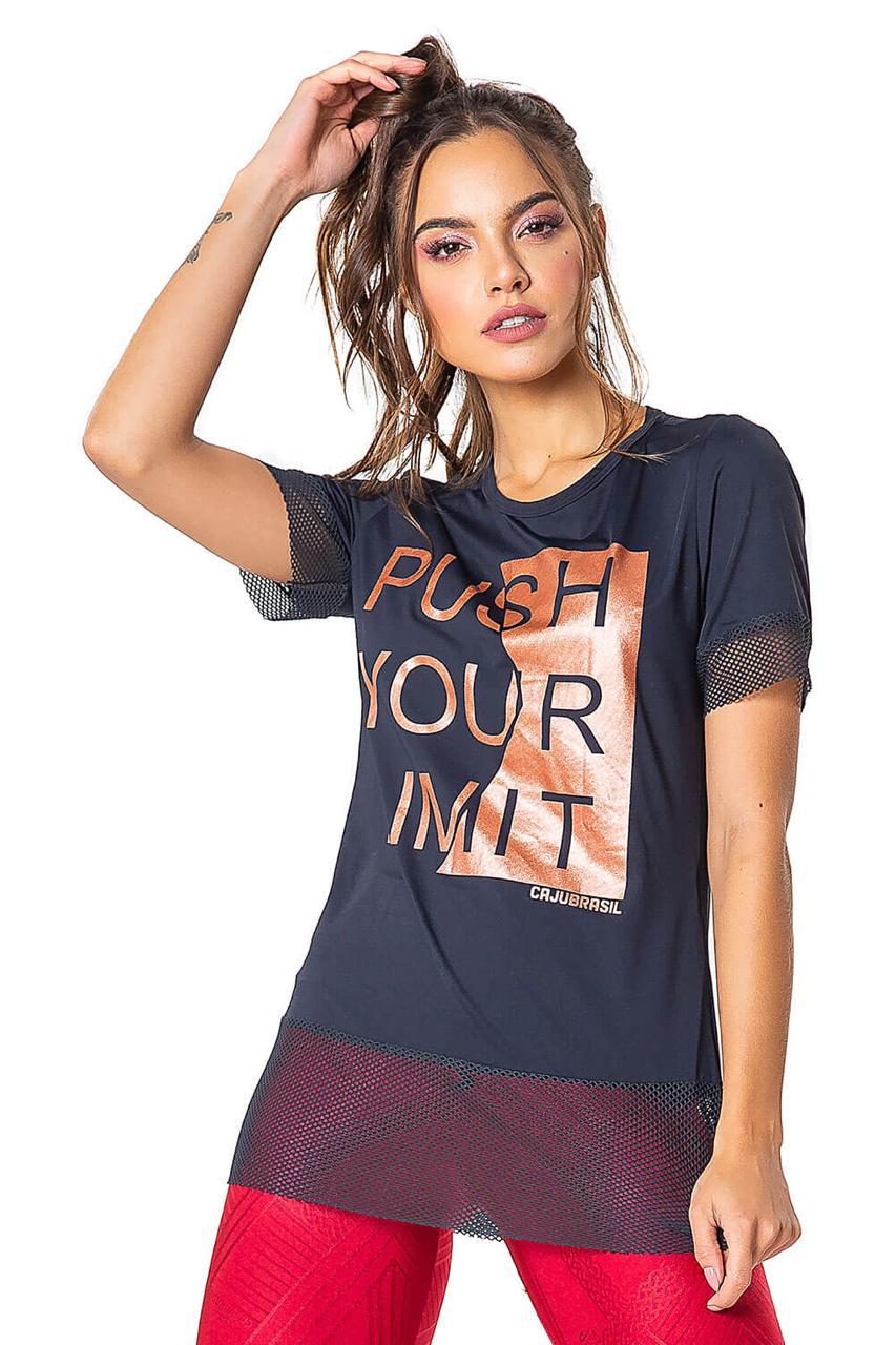 T-Shirt Limit Preta