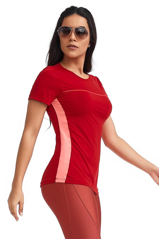 T-Shirt Sportive Vermelha