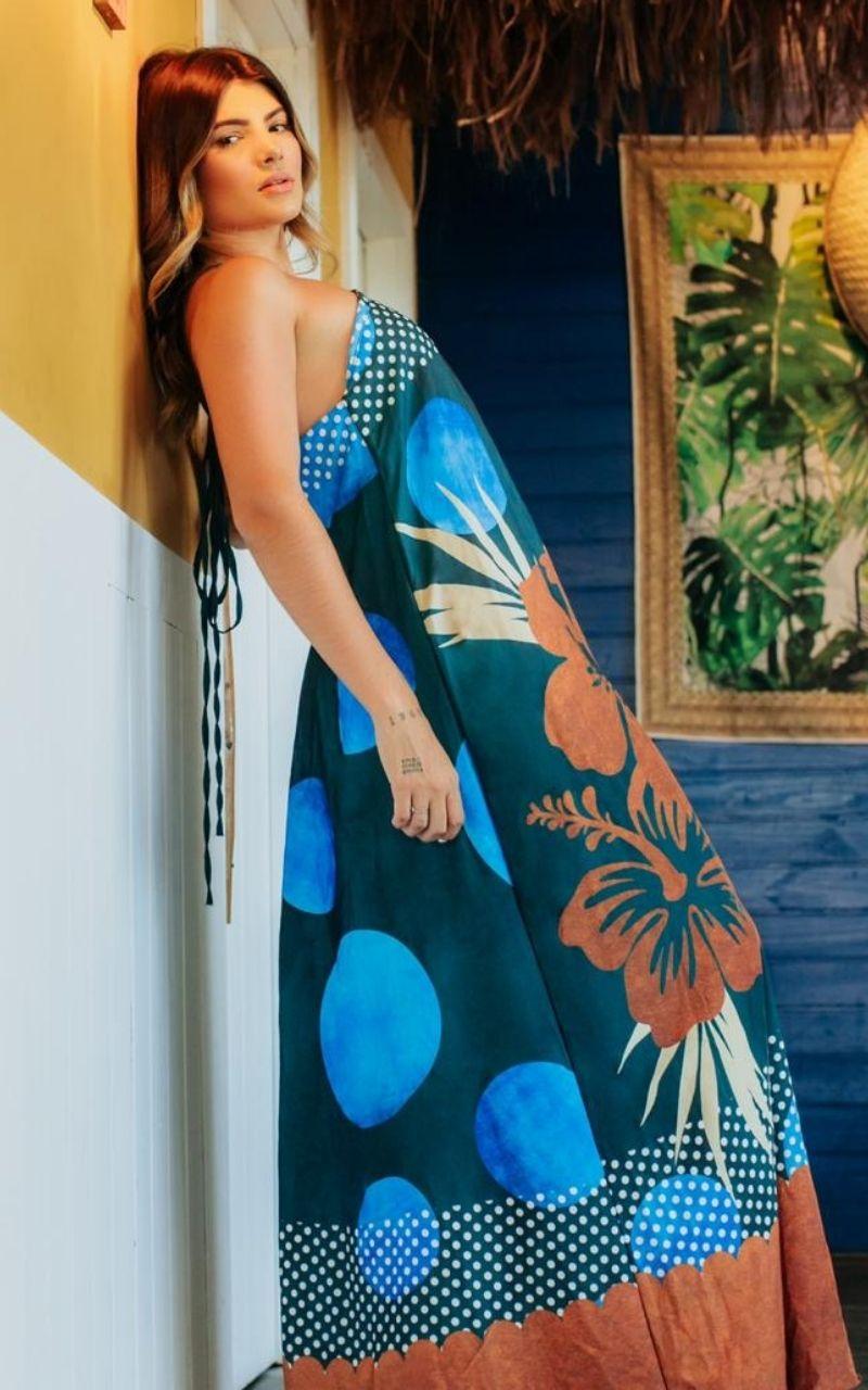 Vestido Resort Poá