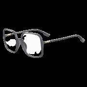 Armação Dior Quadrada SOSTELLAIREO1F/KB7 58 Cinza