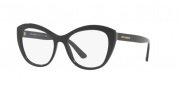 Armação Dolce&Gabbana Cat-Eye DG3284 501 53 Preta