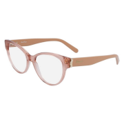 Armação Salvatore Ferragamo Cat-Eye SF2863 749 53 Rose