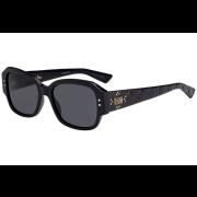 Óculos Dior Quadrado LADYDIOR STUDS5 807IR Preto