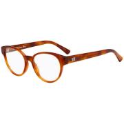 Óculos Dior Redondo Cat-Eye LADYDIORO1 SX7 49 Marrom