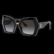 Óculos Dolce&Gabbana Borboleta DG4377 5018G 54 Preto