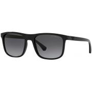 Óculos Emporio Armani Quadrado EA4129 50018G 56 Preto