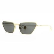Óculos Gucci Cat Eye GG0538S 001 63 Dourado/Preto