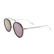 Óculos Illesteva Redondo Wynwood Ace C9 54 Dourado