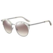 Óculos Jimmy Choo Redondo Hally/S FWM/NQ 55