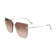 Óculos Longchamp Sunglasses Cat-Eye LO142S 718 59 Dourado