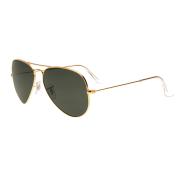 Óculos Ray Ban Aviador RB3025L L0205 58 Dourado