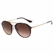 Óculos Ray-Ban Blaze Double Bridge RB4292N 71013 61 Tartaruga