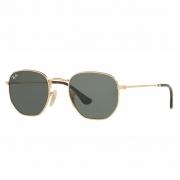 Óculos Ray-Ban Hexagonal RB3548NL 001 54 Dourado