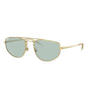 Óculos Ray Ban Oval RB3668 001Q5 55 Dourado