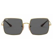 Óculos Ray Ban Quadrado RB1971L 9150B1 54 Dourado