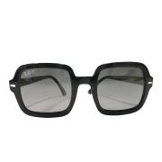 Óculos Ray Ban Quadrado RB2188 901 M3 53 Preto Cristal