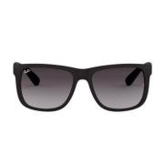 Óculos Ray Ban Quadrado RB4165L 6018G 57 Preto