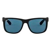 Óculos Ray Ban Quadrado RB4165L 6222V 55 Preto